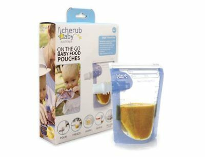 Cherub Baby On The Go Food Pouches 20 Pack