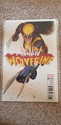 Marvel Comic All New Wolverine #1 1:25 Lopez Variant First Print Brand New! Mint