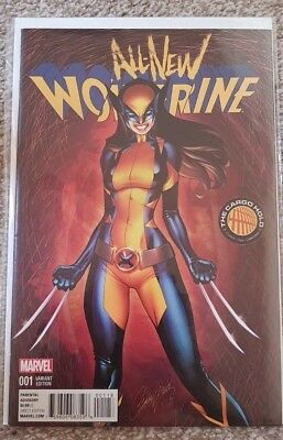 Marvel Comic All New Wolverine 1 J Scott Campbell Cargo Hold Variant First Print