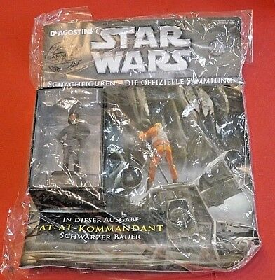 Star Wars Schachfiguren #27 AT-AT Kommandant deAgostini OVP
