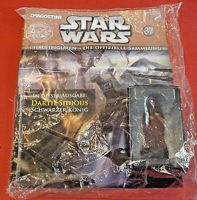 Star Wars Schachfiguren #37 Darth Sidious deAgostini OVP