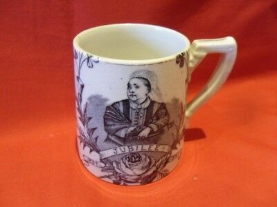 Queen Victoria Golden Jubilee 1837 - 1887 Commemorative Mug