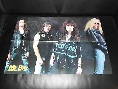 Heavy Metal Mr. Big / Skid Row, 90er Jahre RAR