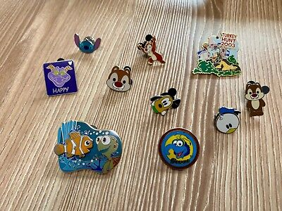 50% OFF (Lot of 10) Collectable Disney Trading Pins + FAST SHIPPING!