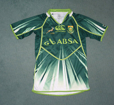 South Africa Rugby Sevens shirt, Canterbury.Sevens shirt, Canterbury. Size small