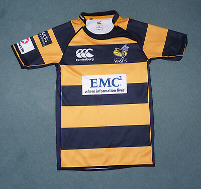 London Wasps Rugby shirt, Canterbury. Size small