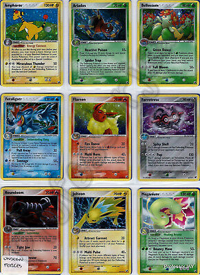 Pokemon Cards UNSEEN FORCES COMPLETE SET 100/115 TCG 4TH GEN