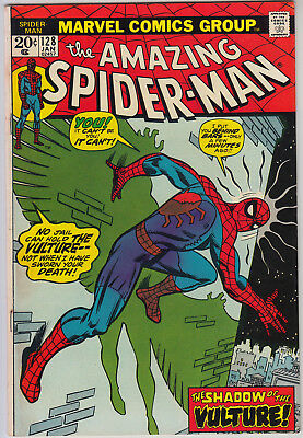 AMAZING SPIDER-MAN #128 FN- (5.5) Cents