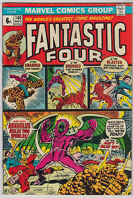 FANTASTIC FOUR #140 VG+ (4.5) Pence