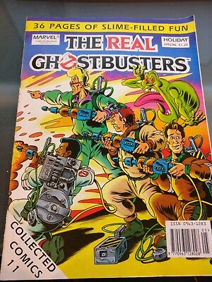 Vintage Comic Magazine, The Real Ghosterbusters Holiday Special - VERY RARE