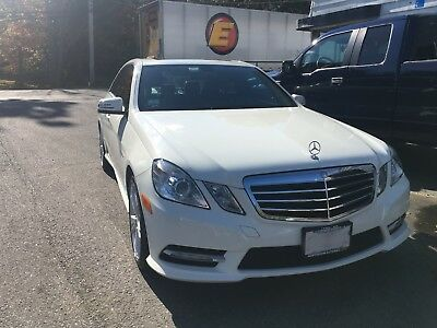 2012 Mercedes-Benz E-Class  Mercedes-Benz E 350 4Matic 2012 White