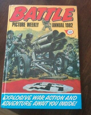 Battle Picture Weekly Annual 1982