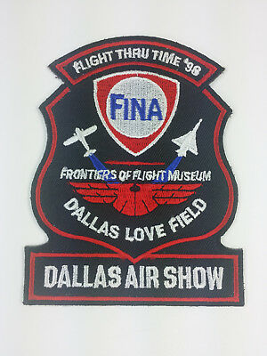 1998 Dallas Texas Air Show Patch Frontiers of Flight Museum Love Field
