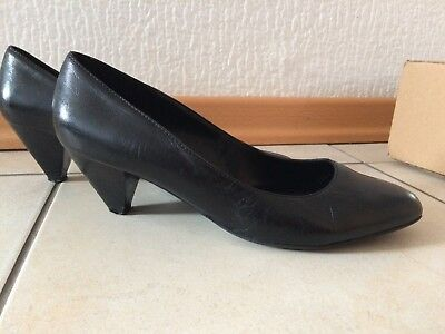 33e0a8e3d4b1d4 5TH AVENUE PUMPS Damenschuhe schwarz Leder Gr. 40 - TOP - EUR 9