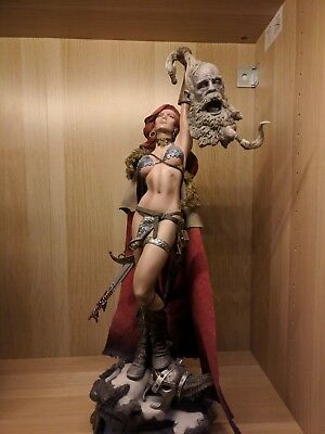 Sideshow - Red Sonja Exclusive Premium Format 1/4 incl. Box and Brown Shipper