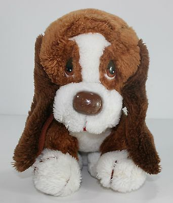 Vintage Russ Baxter The Bashful Basset Hound Dog Plush Stuffed