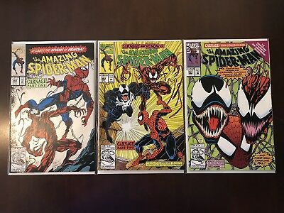 The Amazing Spider-Man 361 (2nd Print), 362 & 363 - Carnage!