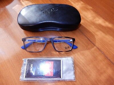 558c966836 NEW RAY BAN RB7056 (5644) Matte Black   Gold 55  17 145 Eyeglasses ...