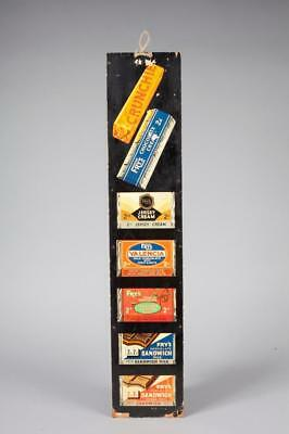 "Vintage ~ c1930's ~ ""Fry's"" Chocolate Bar Advert / Show Card"