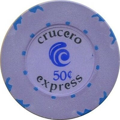 *** CRUCERO EXPRESS FERRY CRUISE 50¢ Casino Chip  ***