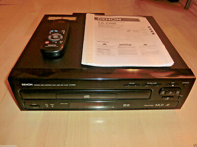Denon LA-2300 High-End LaserDisc-Player, inkl. FB&BDA, 2 Jahre Garantie