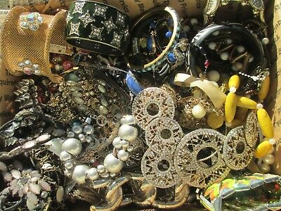 HUGE! Vintage to Now JUNK DRAWER Jewelry Lot Estate UNSEARCHED UNTESTED 11 + lbs