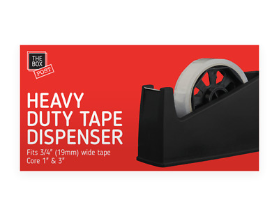 HEAVY DUTY TAPE DISPENSER Desktop Office Sellotape Cello tape Pack Holder