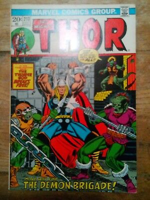 The Mighty Thor No,213 1973 FN+