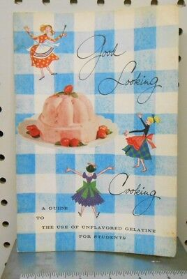 Knox Gelatine Recipes from 1957 Good Looking Cooking
