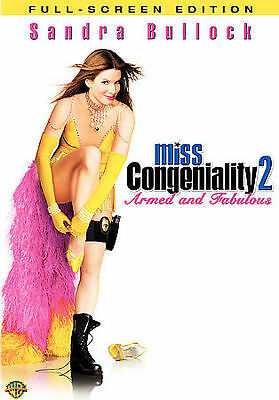 Miss Congeniality 2: Armed and Fabulous (DVD, 2005, Full Frame) ***DISC ONLY***
