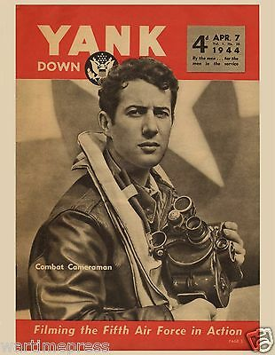 5 New Same Postcards, WWII YANK - Combat Cameraman with the Fifth AAF SWPA