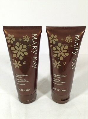 Mary Kay Gingerspice Wishes Shower Gel & Body Lotion -