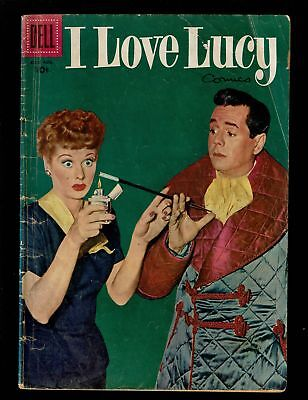 Dell Comics I Love Lucy 11 Vg- 3.5 1956 Lucy & Ricky Photo Cover Tv Show