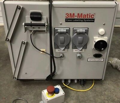 3M-Matic Case Labeling Systems Print And Seal Applicator PS2000R-T1V3