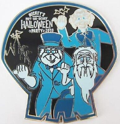 Disney Halloween Haunted Mansion MNSSHP Mystery Hitchhiking Ghosts pin