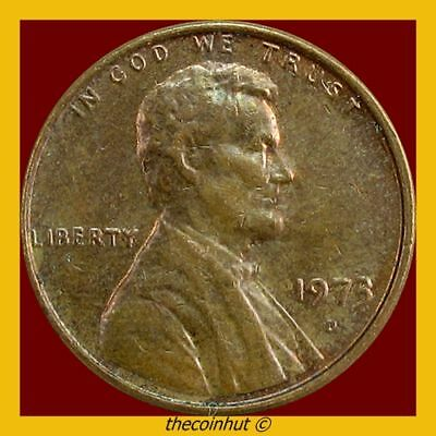 Lincoln Memorial Penny 1973 D Cent US Coins Coinhut2980