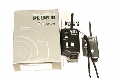 Pocket Wizard Transceiver Plus II  - with Box