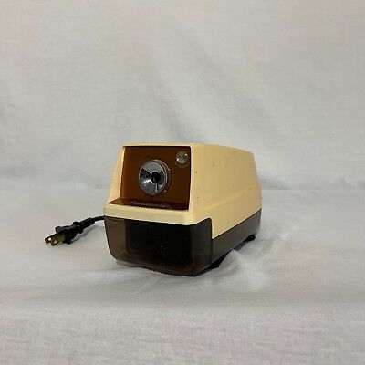 Vintage Panasonic KP-33 Electric Pencil Sharpener Auto Stop - Prop Made in Japan