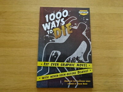 Rare Copy Of 1000 Ways To Die Trade Paperback Graphic Novel! Zenescope!