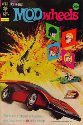Mod Wheels #9 in Very Fine minus condition. Gold Key comics