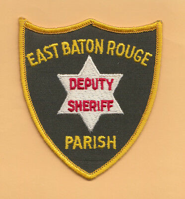 A13 * Old Htf East Baton Rouge Parish Sheriff Louisiana Police State Patch *