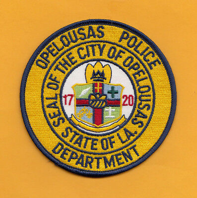A11 * Older Htf Opelousas Louisiana Police State Patch Lasp *