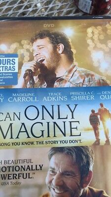 I Can Only Imagine Movie DVD BRAND NEW STILL SEALED MercyMe