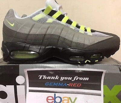 hot sale online 01679 edd00 Nike Air Max 95 OG NEON SIZE 11 UK 554970-071 Brand New in Box