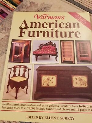 WARMAN'S AMERICAN FURNITURE Antiques Antique Collector Collecting Guide Like NEW