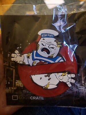 Loot Crate Stay Puft Ghostbusters 3-D Pin