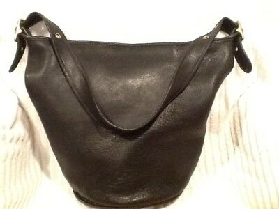 Classic Coach Duffle Sac Extra Large Bucket Bag vintage Style 9085 Ex cond!