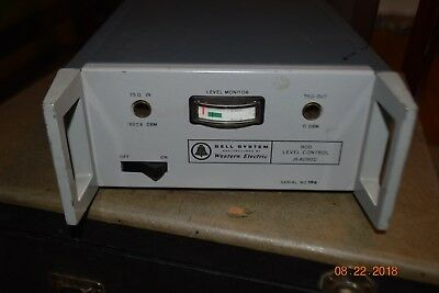 rare vintage bell working western electric J64090D-1 L1-A 90D level control