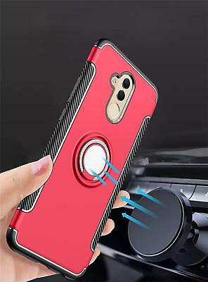 Dooqi For Huawei Mate 20 Lite Ring Stand Holder Shockproof Rugged Case Cover