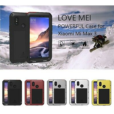 LOVE MEI Shockproof Silicone Gel Cover For Xiaomi Mi MAX 3 Max3 Protective Case